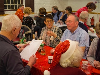 Christmas social - quiz time