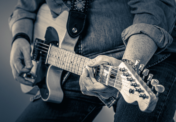Old Man Plays The Blues; Phil Turner